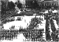 Soviet Army in Tbilisi, 1925